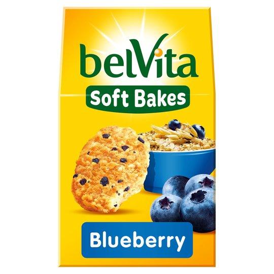 Belvita Soft Bakes Choco/Redberries/Golden Grain/Blue Berry Was £2.79 Now £1.39 @ Tesco