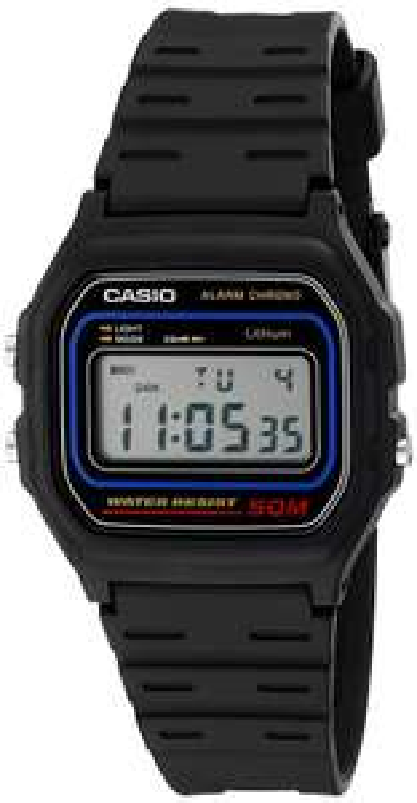 Casio Men's W59-1V Classic Black Digital Watch now £17.99 (Prime) + £4.49 (non Prime) at Amazon