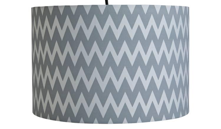 Home (Wave Pendant/ Large Fabric/ Nomadic Traveller Fabric) Light Shade £3.60 @ Argos (Free C&C)