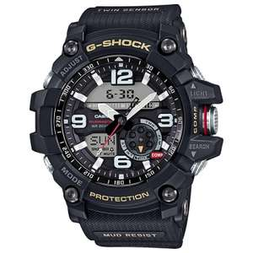 Casio G-Shock Master of G Mudmaster Watch (GG-1000-1A) - £153.99 @ eGlobal Central