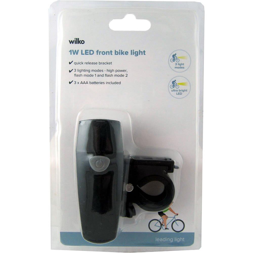 Front Bike Light at Wilko for 50p instore