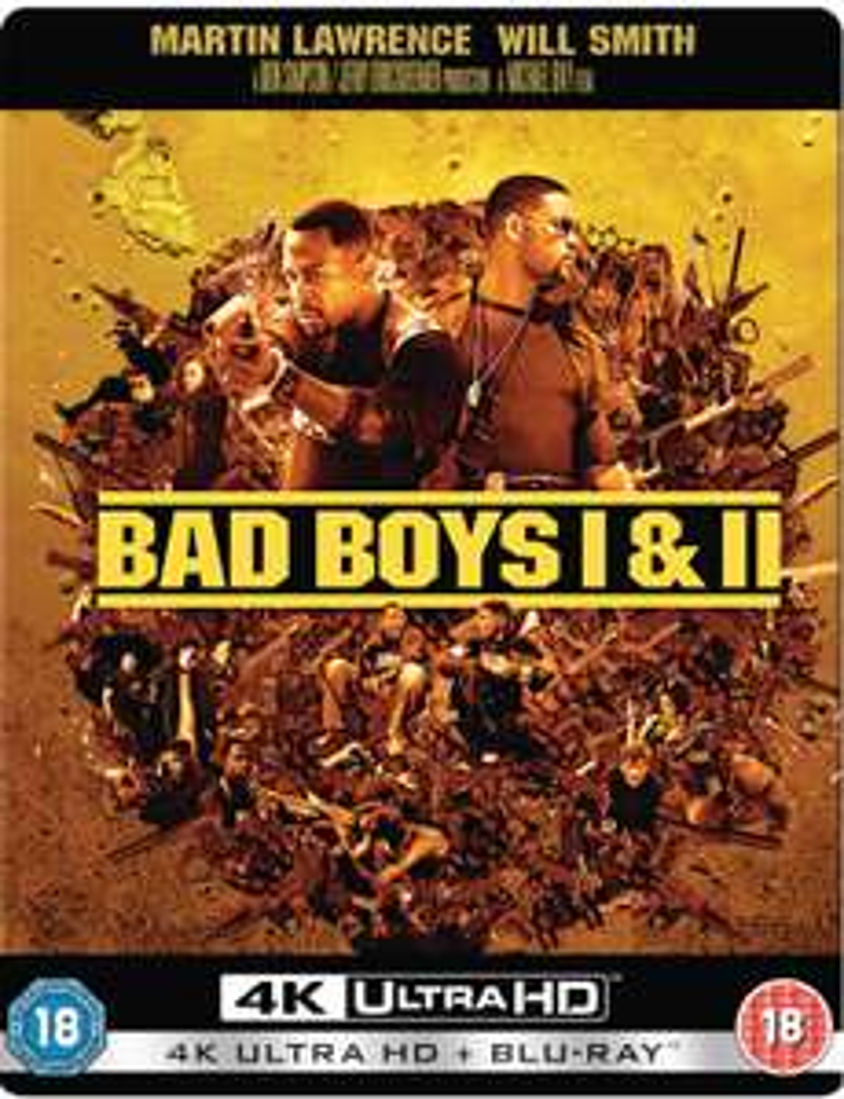 Bad Boys I&II Collection 4K Ultra HD  Blu Ray – Zavvi Exclusive Pop Art Steelbook £19.99 @ zavvi