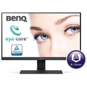 """BenQ GW2780 27"""" Full HD LED Monitor £125 but £10 cashback making it £115 + £3.49 delivery at Ebuyer"""