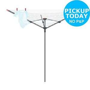 Vileda 40m 3 Arm Rotary Outdoor Washing Line £26.67 - Argos Ebay
