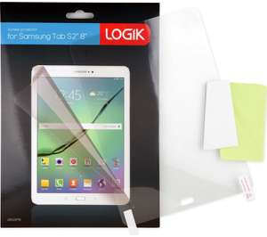 """LOGIK Samsung Tab S2 8"""" Screen Protector 5p Collection @ Currys"""