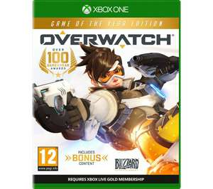 Overwatch GOTY Edition - Xbox One £12.99 at Currys
