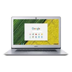 """Acer Chromebook 15 (15.6"""") - Intel Pent N4200, 4GB, 64GB, FHD IPS Touchscreen, Backlit KB, Passive Cooled £199.97 Refurb A1 @ Laptopsdirect"""