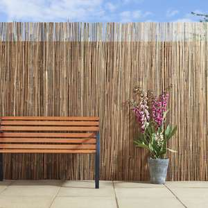 Wilko - Garden - Apollo Bamboo Slat Screening 4m x 2m - reduced to clear, in-store still showing full price but scanning at £3.30