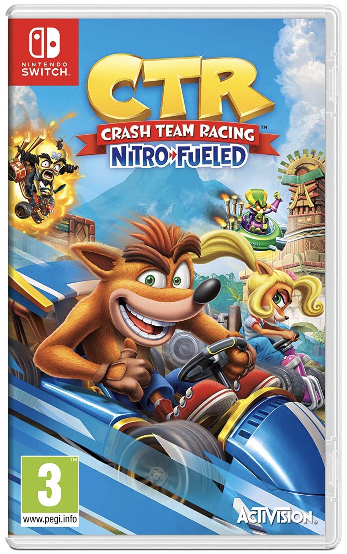 CrashTM Team Racing Nitro-Fueled (Nintendo Switch) £23 Amazon