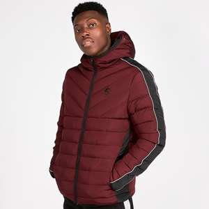 Gym King Axwell Puffer Jacket Port now £29.99 + Free Click & Collect @ Footasylum