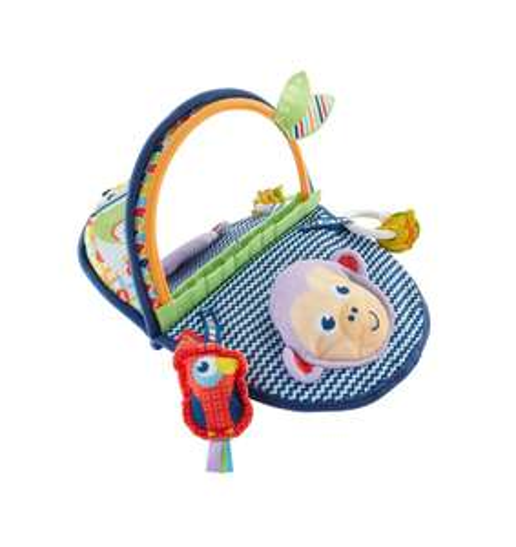 Fisher-Price Monkey Mirror, New-born Tummy Time and Sit Sensory Toy £6.67 @ Amazon