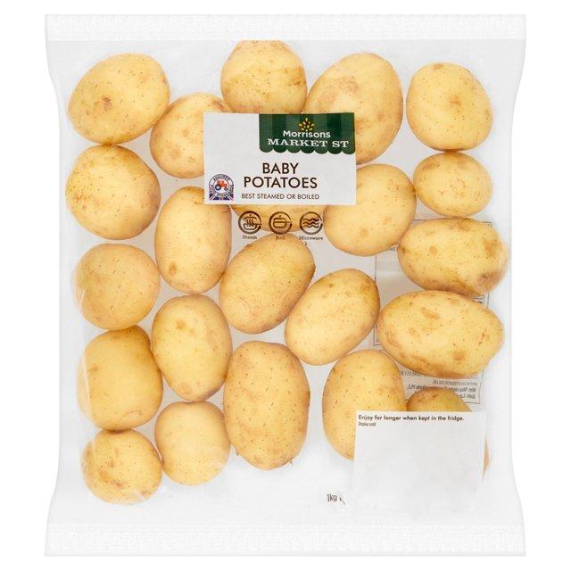 Morrisons Baby Potatoes 1kg 69p
