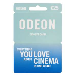 20% off Odeon, Bella and Newlook Gift Cards at Tesco instore