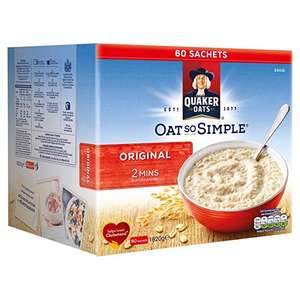 Oats So Simple £4.99 instore at Costco (60 Original / 50 Golden Syrup)