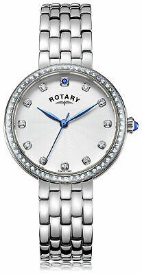 Rotary Ladies Genuine Sapphire-Set Quartz Watch, 34mm, 50M WR, LB03000/06, £22.99 @ Argos ebay