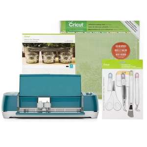 Cricut Peacock Blue Explore Air 2 Starter Bundle - £259 @ Hobbycraft