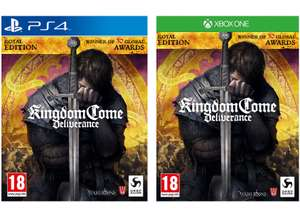 Kingdom Come: Deliverance - Royal Edition (PS4 / Xbox One) for £19.85 delivered @ Simply Games