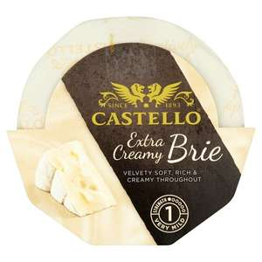 Castello Extra Creamy Brie 200G £1.50 (was £1.90) @ Tesco