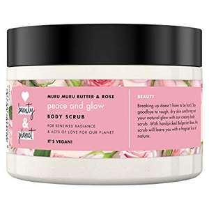 Love Beauty and Planet Murumuru Butter and Rose Body Scrub Peace and Glow 250 ml pack of 4 @ Amazon £7.02 Prime 11.51 Non Prime