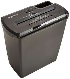AmazonBasics 8 Sheet Strip Cut Shredder with CD Shred £20.39 @ Amazon