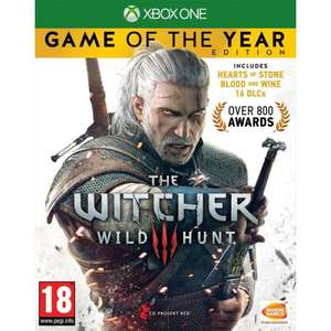 THE WITCHER 3: WILD HUNT - Game Of The Year Edition XBOX ONE £12.95 Delivered @ The Game Collection