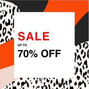 River Island sale just launched today. Up to 70% off. Brands such as Lacoste and Levi's included
