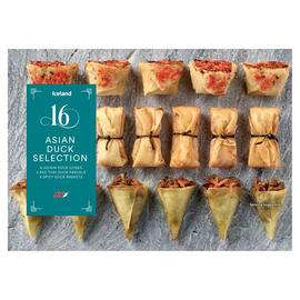 Iceland 16 Asian Duck Selection 298g £1 @ Iceland
