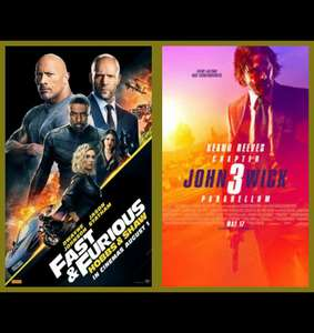 F&F: Hobbs & Shaw for £4.99 (John Wick 3: Parabellum for £6.99) (HD+ Digital Copy) Preorder with Code @ Chili