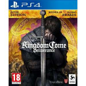 Like New (Unused DLC) : Kingdom Come Deliverance Royal Edition PS4 for £17.95 (New £19.95) @ The Game Collection