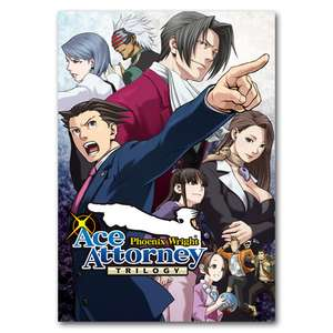 Phoenix Wright: Ace Attorney Trilogy Steam Key £15.99 @ Games Planet