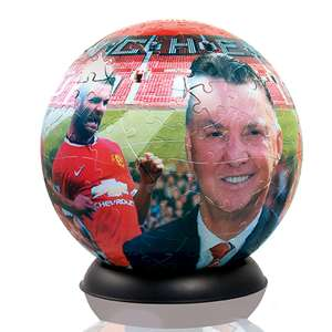 Manchester United Puzzle Balls - £9.98 Delivered @ Zavvi