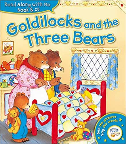 Goldilocks and the Three Bears Book & CD - 7p (Prime) £3.06 (Non Prime) @ Amazon
