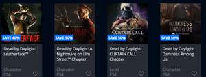 Dead by Daylight DLC 50% off on PS4