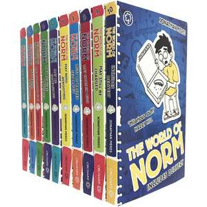 The World of Norm 10 Book Collection Now £10 C&C @ The Works