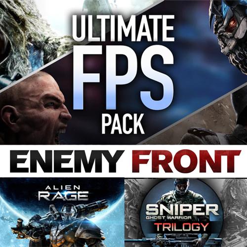 Ultimate FPS Pack (5 Steam Games including Sniper Ghost Warrior Trilogy, Enemy Front, Alien Rage ) £1.09 @ Fanatical