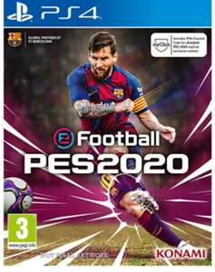 eFootball PES 2020 (PS4)/Xbox One Preorder for £33.85 @ Base