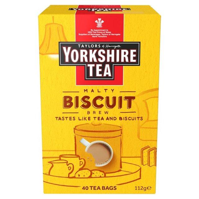 Yorkshire Tea Biscuit Brew 40 Tea Bags - £2 @ Asda