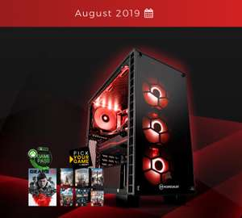 PCSPECIALIST FUSION FURY: AMD RYZEN 3700X, AMD RX 5700XT, 16GB RAM £1499 @ PC Specialist