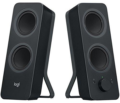 Logitech Z207 Bluetooth Speakers/PC Speakers or 3.5 mm Input, 10 W (Black / White+Black) - £29.99 @ Amazon
