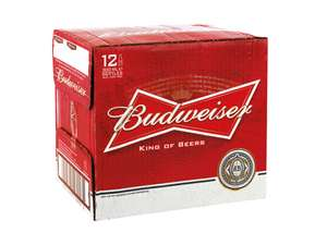 Budweiser Bottles 12x300ml £5.99 Lidl NI super weekend special