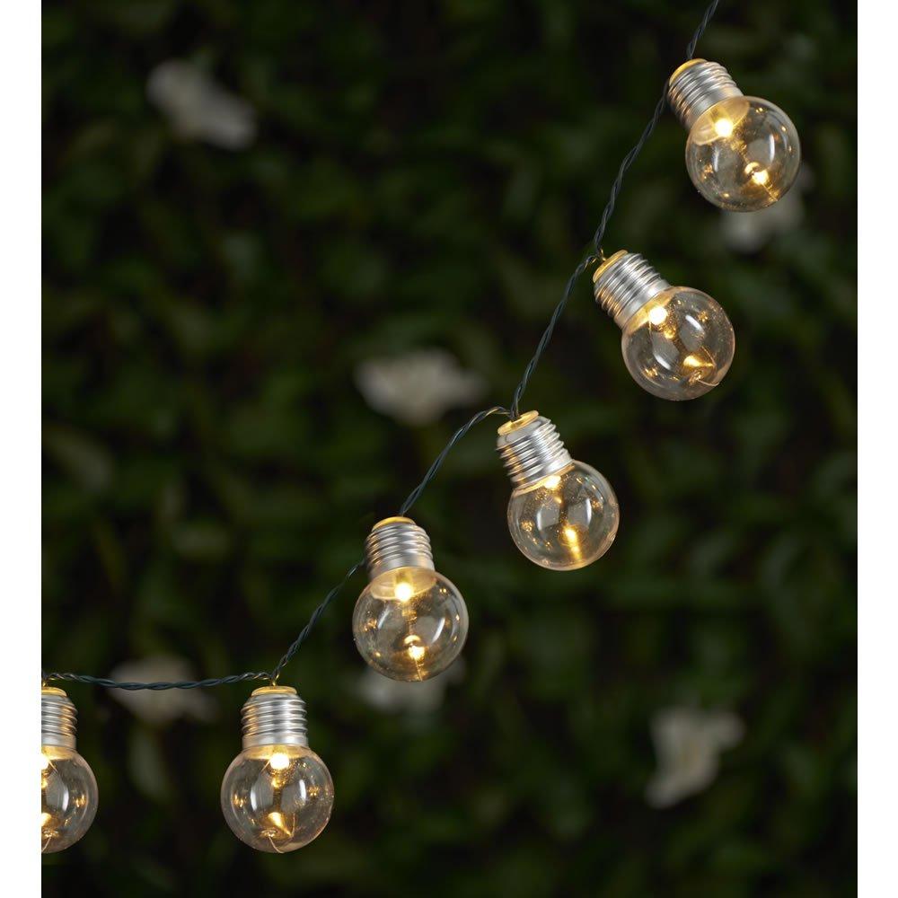 Wilko 50 Frosted Solar Bulb Lights - £1.80 instore only (Bradford)