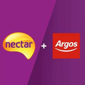 Spend £50 @ Argos  Online, Receive 1000 Bonus Nectar Points or Spend £100 to get 2000 Bonus Nectar points