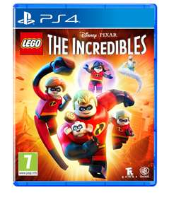 LEGO incredibles Game with mini figure (PS4/Box) £10 TESCO WIDNES