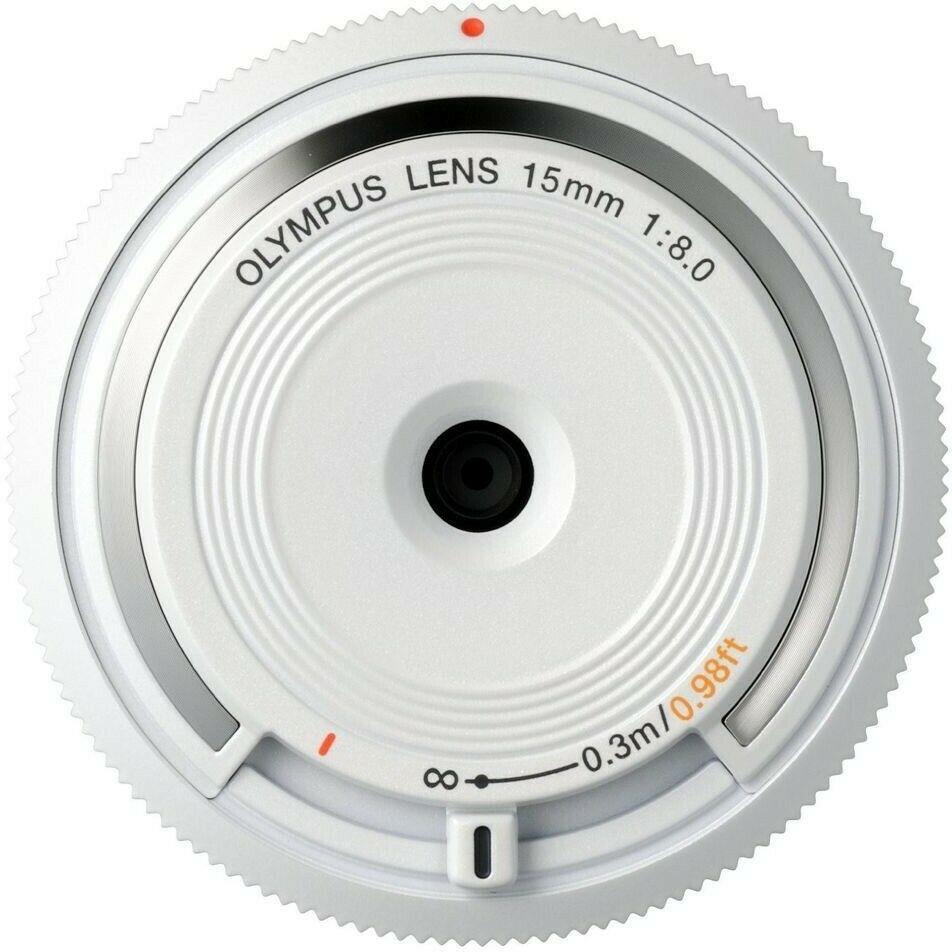Olympus M.Zuiko Digital 15mm F8 Body Cap Lens - White £29 at srsmicrosystems  eBay