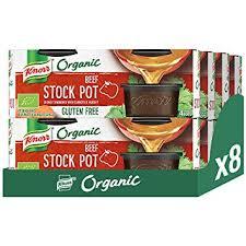 4 x 26g Knorr Organic Beef Stock Pot, Gluten Free. 25p Instore @ Poundstretcher