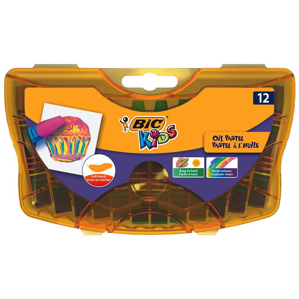 1/2 Price : 12 Bic Kids Oil Pastels In Durable Case, Now £1.50 @ Wilko ( free C&C )