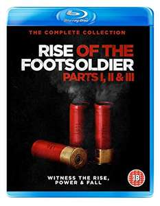 Rise of the Footsoldier Pts.1, 2 & 3 Blu-ray set - £5 w/Prime @ Amazon (+£2.99 non-Prime)