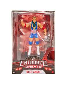 WWE Entrance Greats Elite Action Figure. Kurt Angle or Finn Balor £8.99 each @ Very (free Click & Collect delivery)