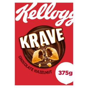 Half price Kellogg's Krave Chocolate Hazelnut 375g @ Iceland for £1.50