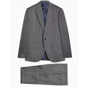 Topman suits sale + extra 20% off -  2 piece suits starting from as low as £28 - free c&c